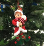 Elf On XmasTree